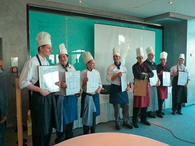 Bild der Teilnehmenden Auszubildenden am Azubiwettbewerb