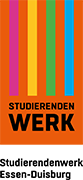Logo Studierendenwerk Essen und Duisburg mit externem Link zur Website