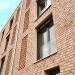 Die Wohnanlage Stennerstr. hat eine schöne Klinkerfassade in orange-brauner Farbe